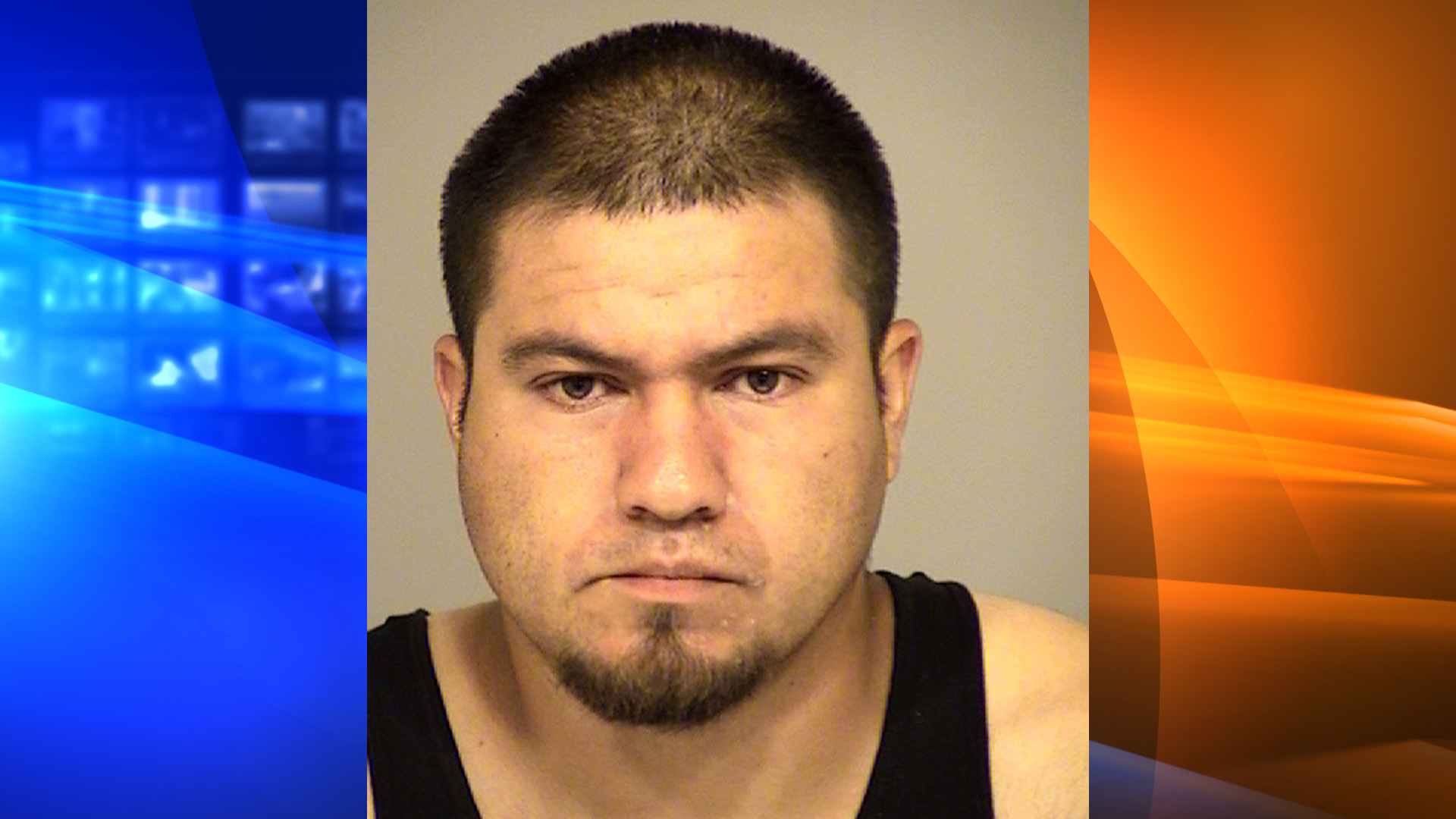 Abel DeJesus Monroy appears in this undated booking photo released by the Ventura County Sheriff's Office.