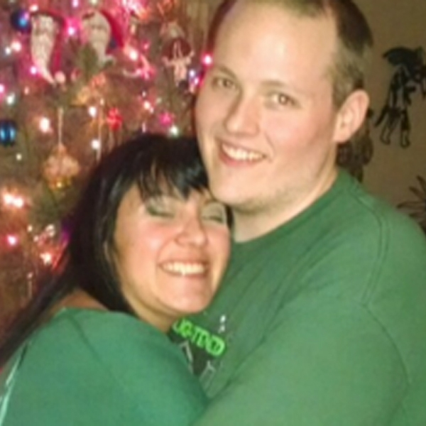 A photo of the couple was posted to a GoFundMe page.