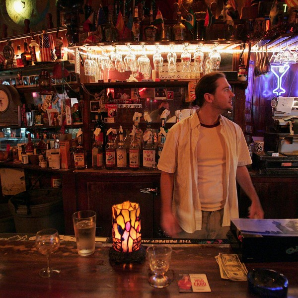 Brandon Pool tends bar at the Inner Town Pub, a corner bar dating back before prohibition in the city's East Village neighborhood June 21, 2005, in Chicago, Illinois. (Credit: Scott Olson / Getty Images)
