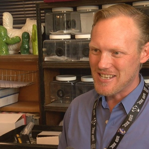 Erik Fleming is one out of 50 teachers nationwide working on new lesson plans about climate literacy with NASA. (Credit: KGUN)