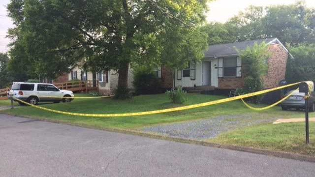 A teenager is accused of trying to kill his father inside their Tennessee home. (Credit: WSMV)