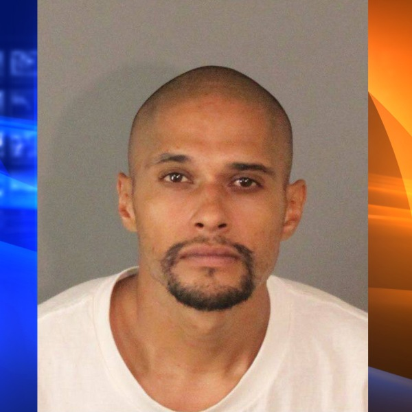 Frank Miguel Tornel is seen in a booking photo released by the Riverside County Sheriff's Department.