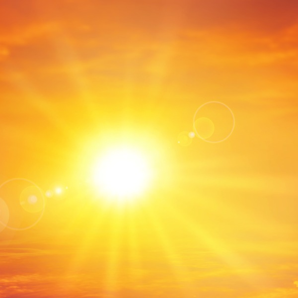 A radiant setting sun is seen in this file photo. (Credit: iStock / Getty Images Plus)