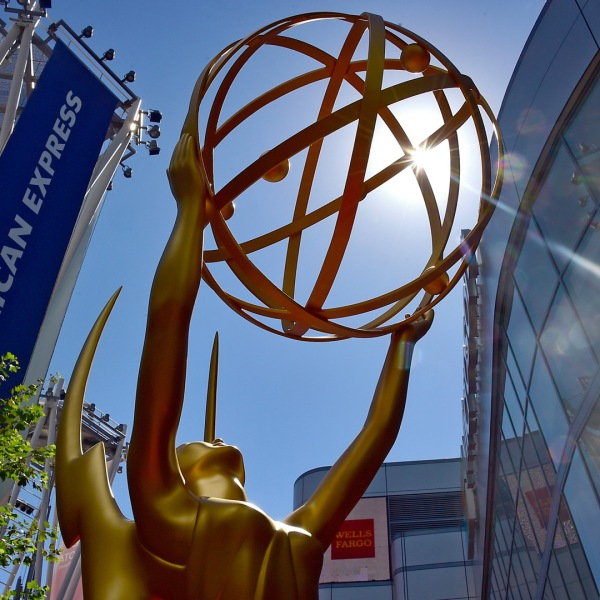 An Emmy Award statue is seen at the 67th Annual Primetime Emmy Awards on Sept. 20, 2015, in Los Angeles. (Credit: Frazer Harrison/Getty Images)