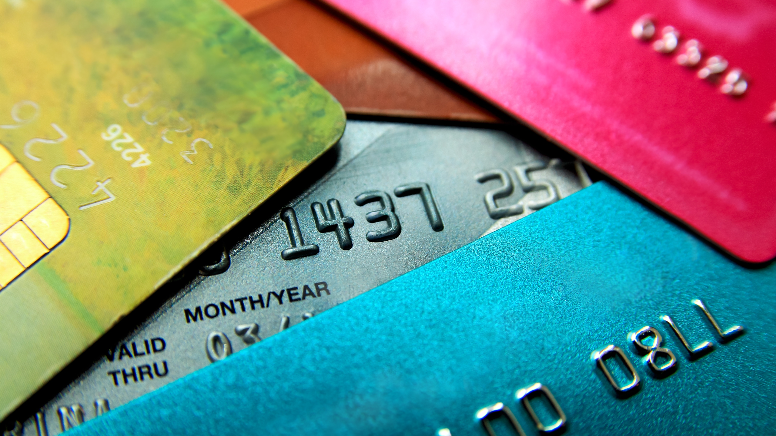 A file photo shows a collection of credit cards. (Credit: alexialex/iStock)