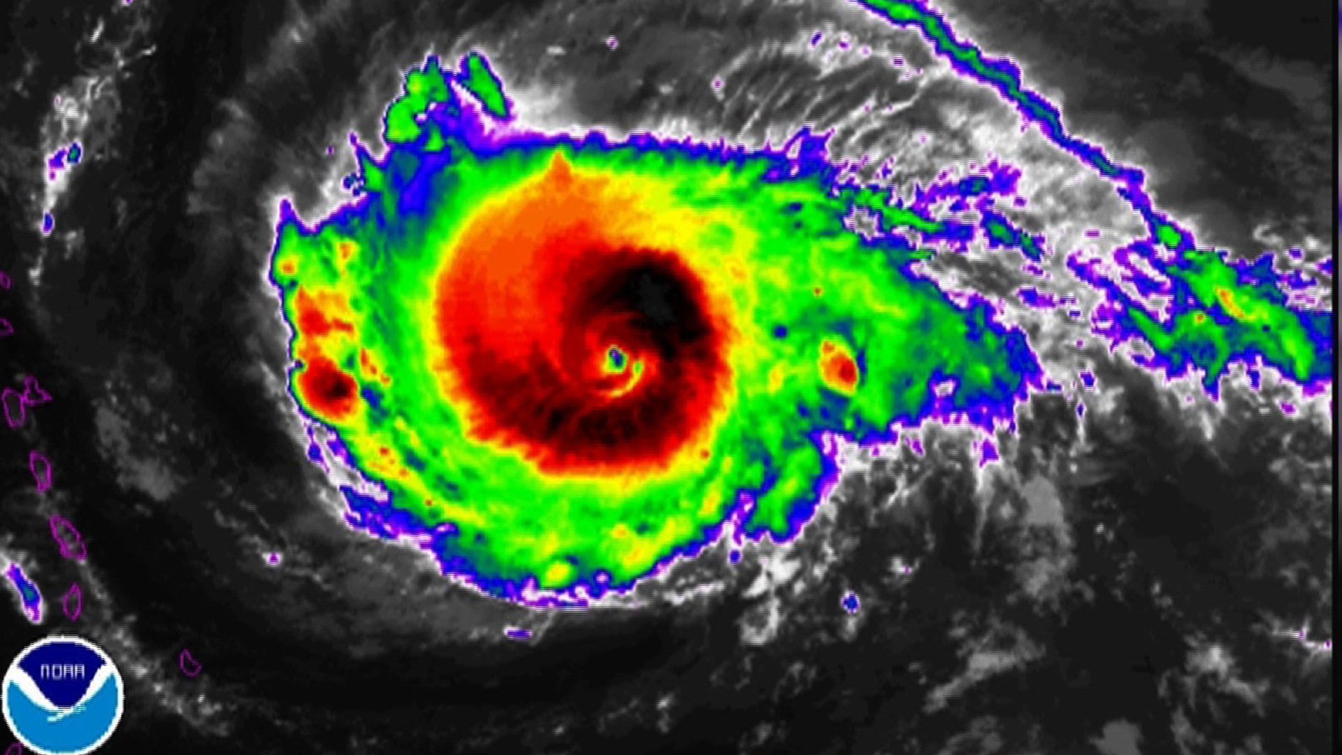 Hurricane Irma is expected to slam the Caribbean and possibly the US mainland this week. (Credit: NOAA)