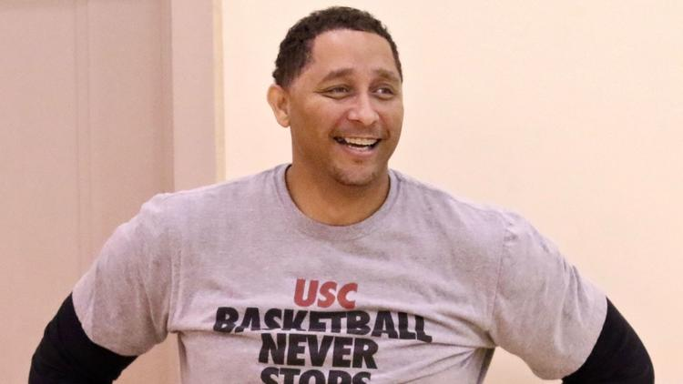 USC assistant basketball coach Tony Bland is seen in a file photo. (Credit: Shotgun Spratling / Los Angeles Times)