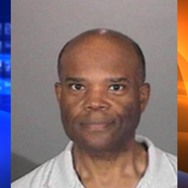 Ronald McKenzie is seen in a booking photo released by San Gabriel police.