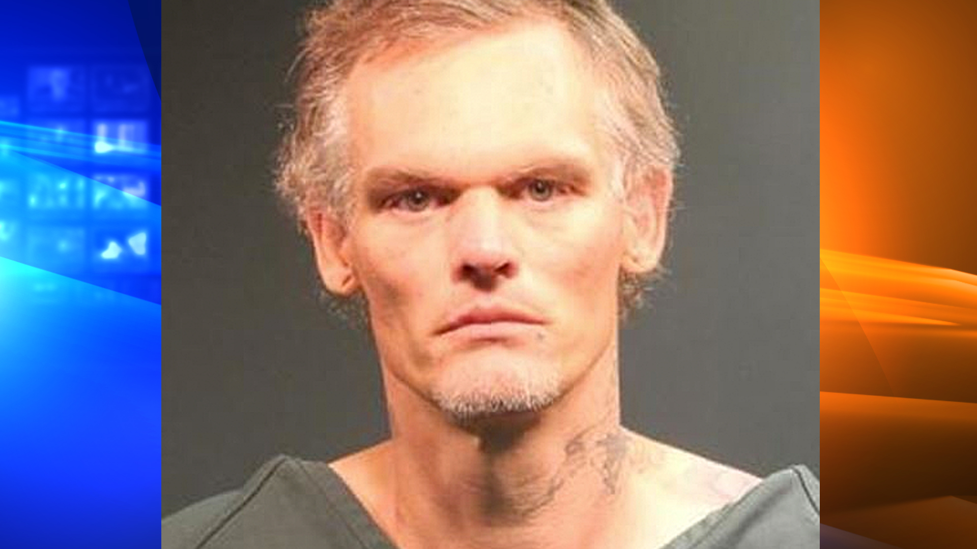 Mark Lewis Amacher is seen in a photo provided by the Santa Ana Police Department.
