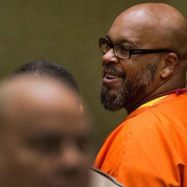 "Former rap mogul Marion ""Suge"" Knight is seen at a prior court appearance. (Brian van der Brug / Los Angeles Times)"