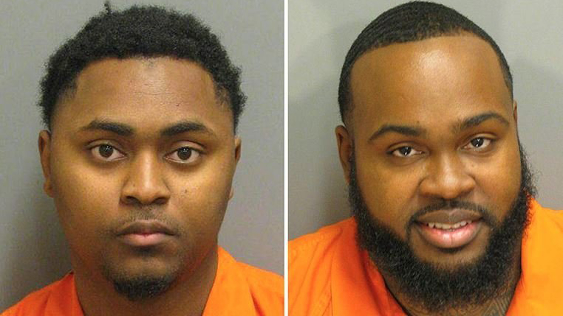 Josephus Boone, left, is charged with killing a man who testified against his brother, Jacquees, right.(Credit: Montgomery County, Alabama Sheriff's Office)