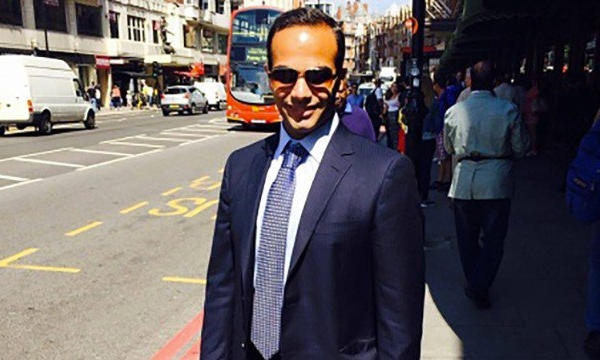 George Papadopoulos is seen in an undated photo from his LinkedIn profile.