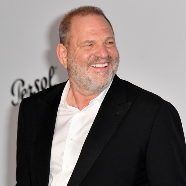 Producer Harvey Weinstein poses as he arrives for the amfAR's 24th Cinema Against AIDS Gala on May 25, 2017, in Cap d'Antibes, France. (Credit: Alberto Pizzoli /AFP/Getty Images)