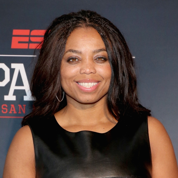 ESPN columnist Jemele Hill attends ESPN The Party on February 5, 2016 in San Francisco. (Credit: Robin Marchant/Getty Images for ESPN)
