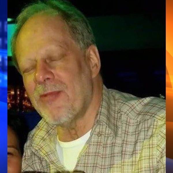 Stephen Paddock is seen in an undated photo distributed by the CNN Wire.