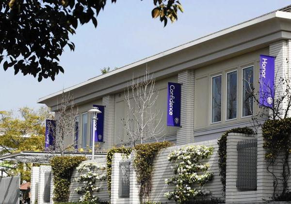 Marlborough School in Hancock Parkis shown in an undated file photo. (Credit: Allen J. Schaben/ Los Angeles Times)