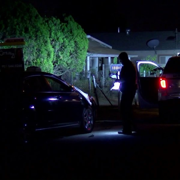 Officials respond to one of two shootings in Bloomington on Oct. 15, 2017. (Credit: OnScene.TV)