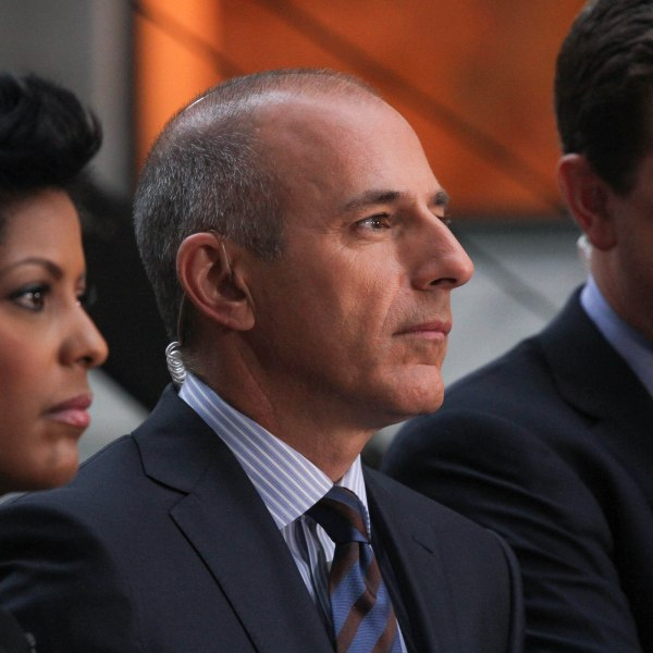 Matt Lauer appears on NBC's 'Today' at the NBC's TODAY Show on August 30, 2013 in New York, New York. (Credit: Rob Kim/Getty Images)