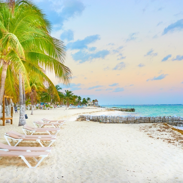 The beach on Isla Mujeres in Mexico is shown in a file photo. (Credit: Getty Images / iStock)