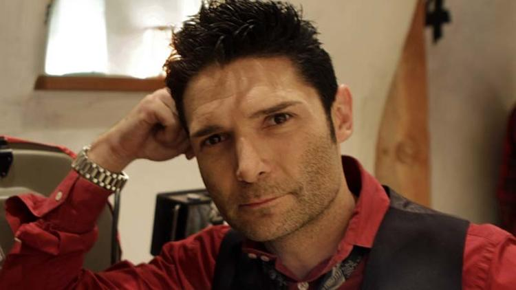 Corey Feldman on a movie set in Venice in December 2011. The actor made a report to the Los Angeles Police Department that he was molested as a child in Hollywood by members of the industry. (Credit: Lawrence K. Ho / Los Angeles Times)