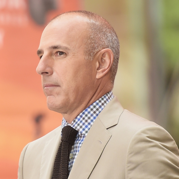 Matt Lauer appears on NBC's 'Today' at the NBC's TODAY Show on August 22, 2014 in New York City. (Credit: Michael Loccisano/Getty Images)