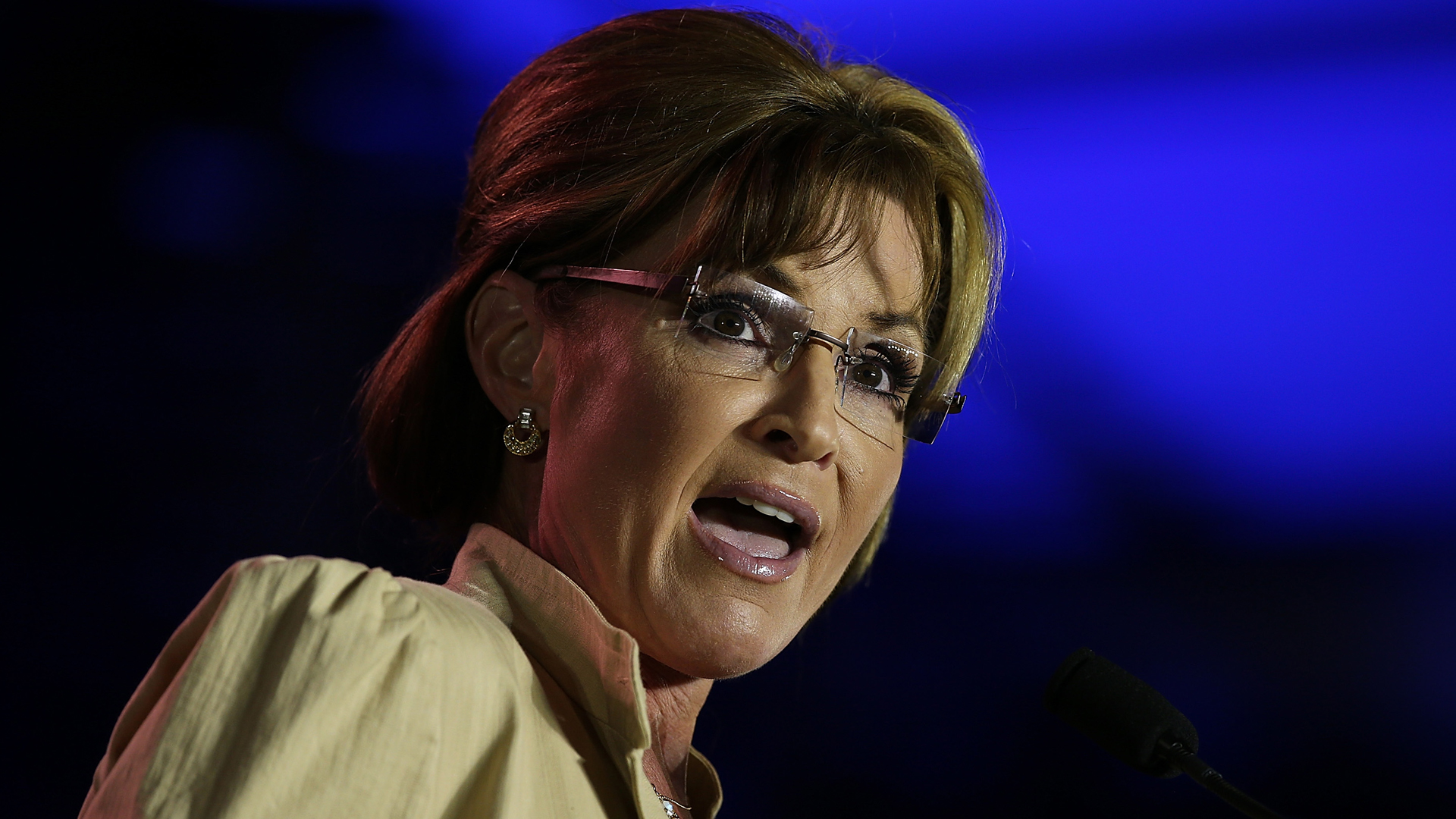 Former Alaska Gov. Sarah Palin speaks during the 2014 Republican Leadership Conference on May 29, 2014 in New Orleans, La. (Credit: Justin Sullivan/Getty Images)