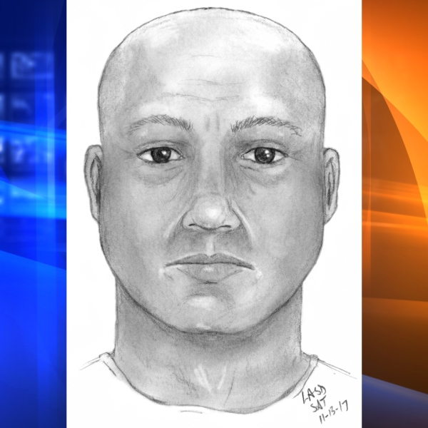 CHP released this sketch of a man who posed as a law enforcement officer in a Nov. 7, 2017, sex assault.