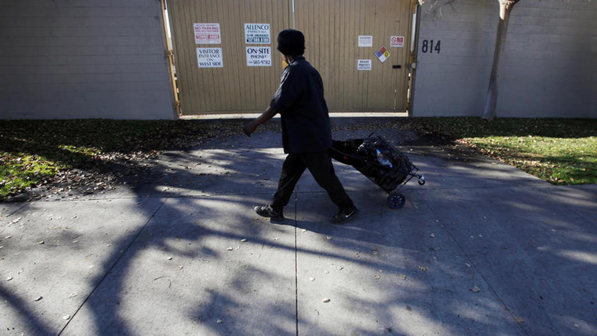 The Allenco Energy Co. site in University Park. (Credit: Francine Orr / Los Angeles Times)
