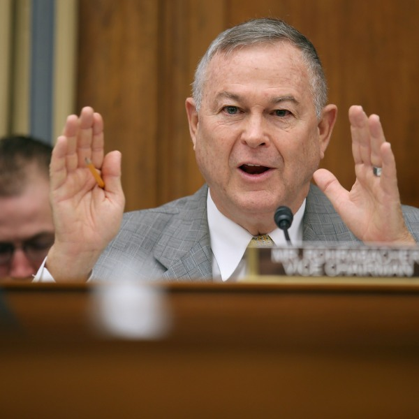 Rep. Dana Rohrabacher, R-CA, speaks during a hearing in the Rayburn House Office Building on Capitol Hill March 19, 2013. (Credit: Chip Somodevilla / Getty Images)