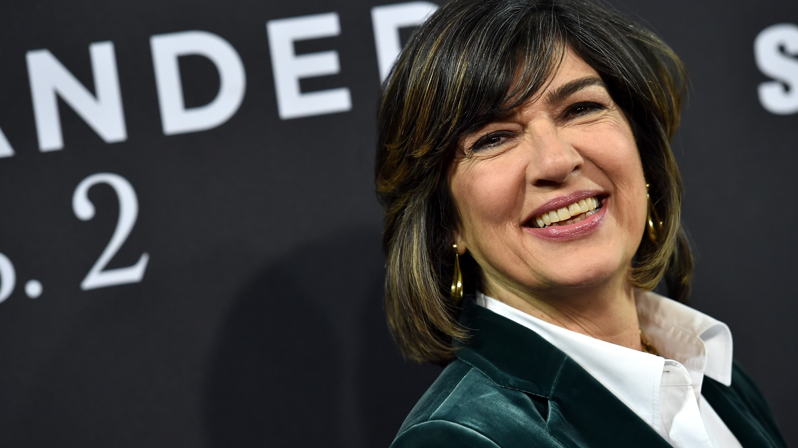"Christiane Amanpour attends the ""Zoolander 2"" World Premiere at Alice Tully Hall on Feb. 9, 2016 in New York City. (Credit: Dimitrios Kambouris/Getty Images)"