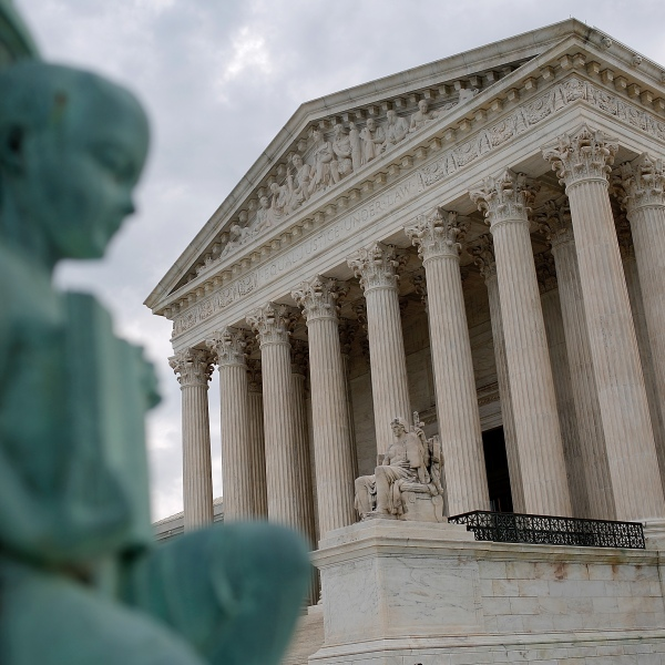 The U.S. Supreme Court is seen on May 23, 2016 in Washington, D.C. (Credit: Win McNamee/Getty Images)