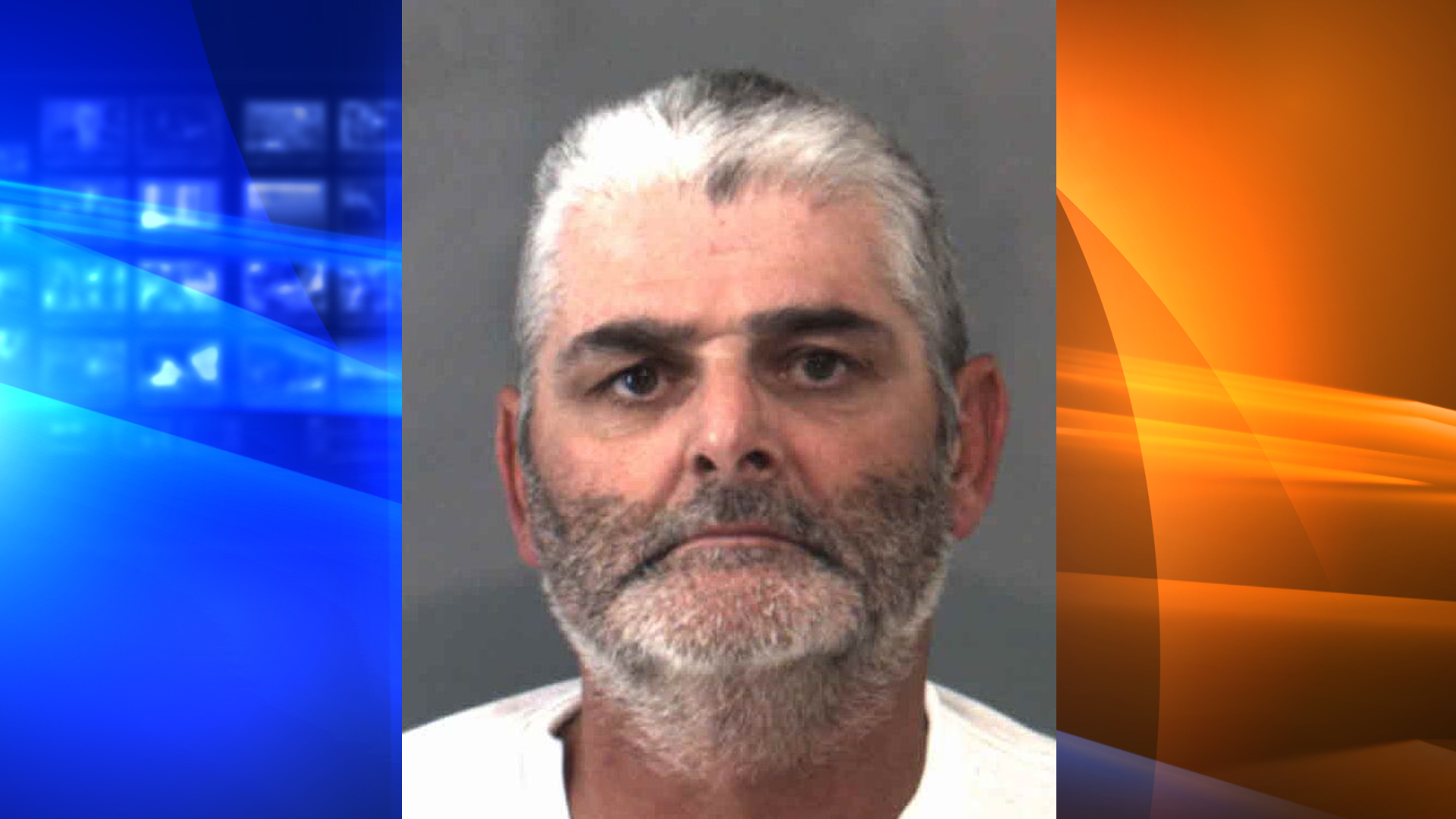 Randy John Morasch is shown in a booking photo released by the Riverside County DA's office.