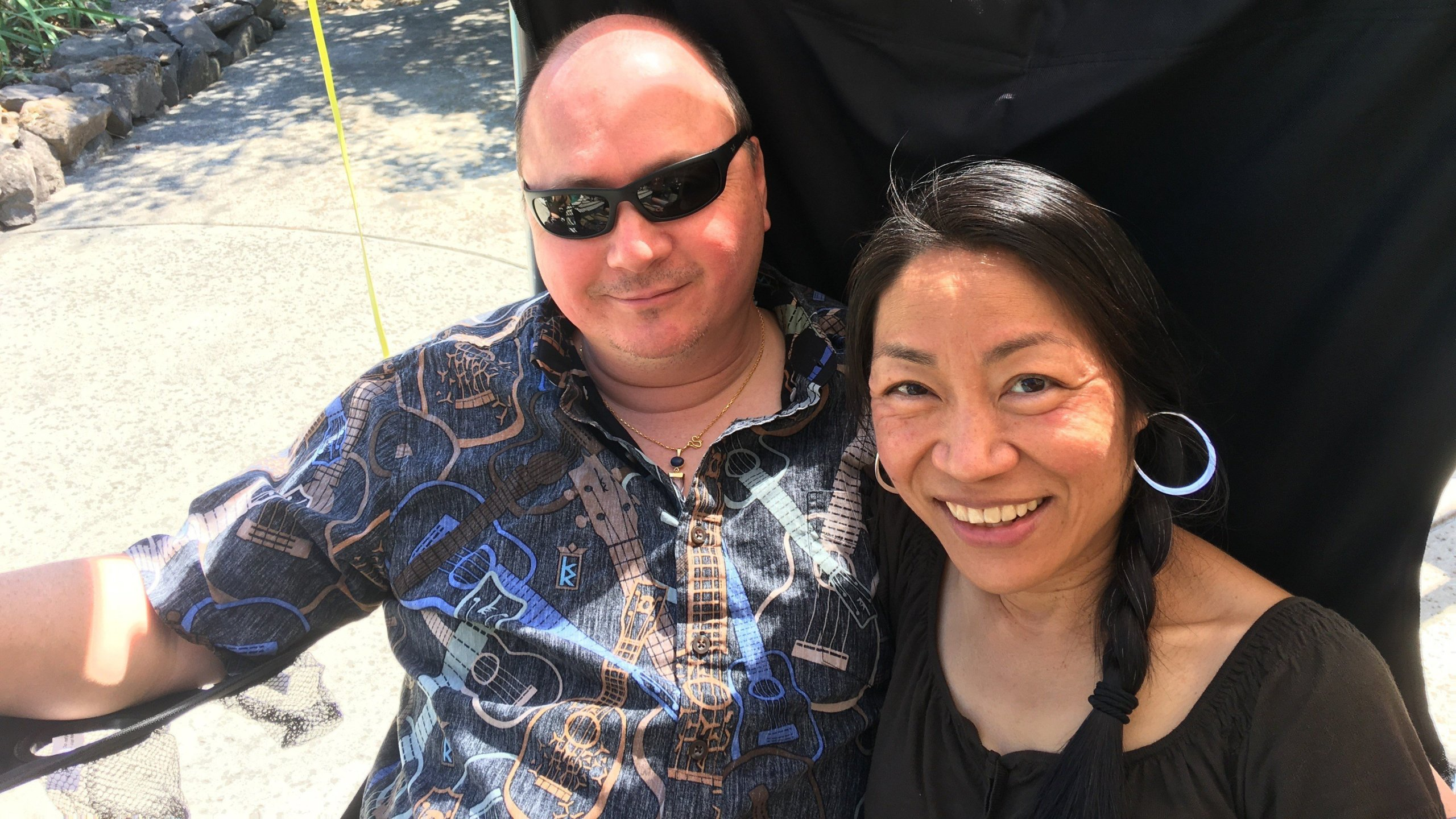 Dr. Antonio Wong and his wife Pratima. (Credit: Wong Family)