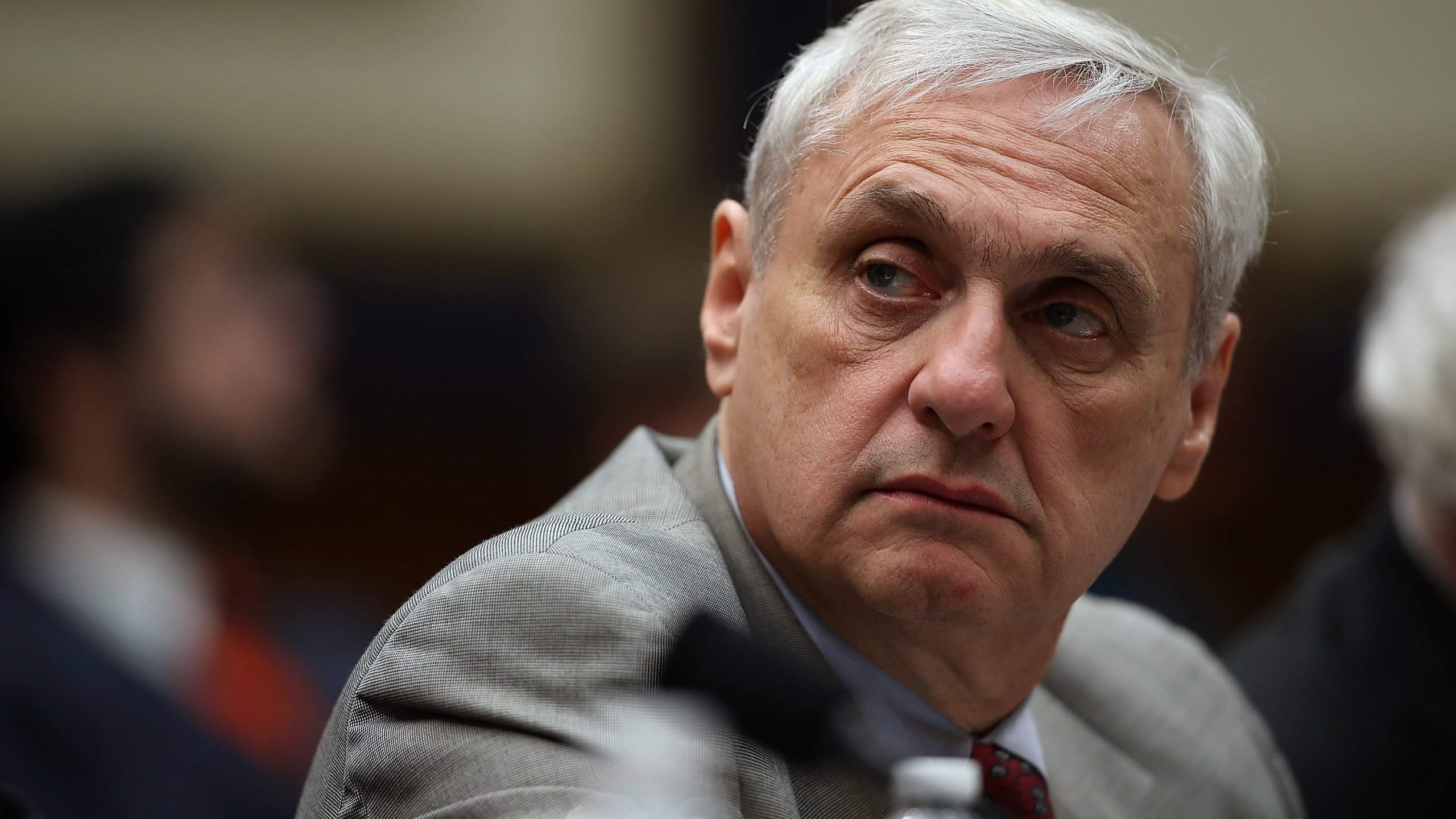 Ninth Circuit Appeals Court Judge Alex Kozinski looks on during a House Judiciary Committee hearing on March 16, 2017 in Washington, DC. (Credit: Justin Sullivan/Getty Images)