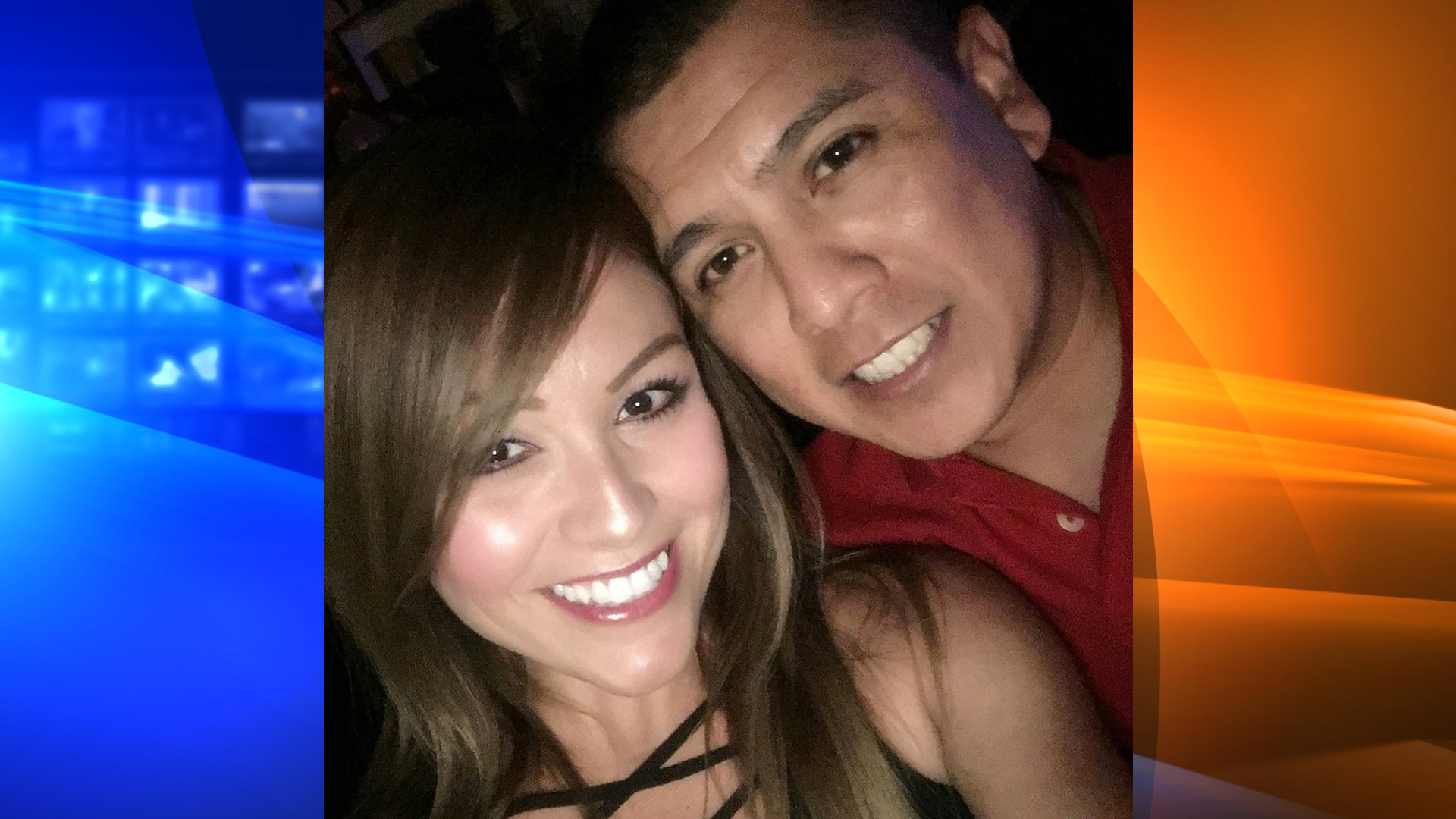 """Angela Ochoa with her fiance, Border Patrol agent Rogelio """"Roger"""" Martinez. (Courtesy: Angela Ochoa)"""