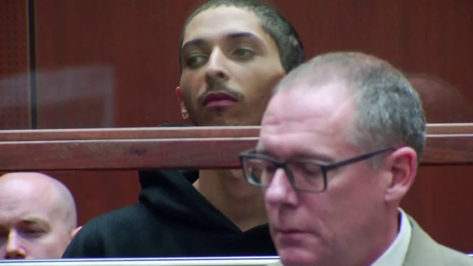Tyler Barriss appears at an extradition hearing in Los Angeles on Jan. 3, 2018. (Credit: CNN)