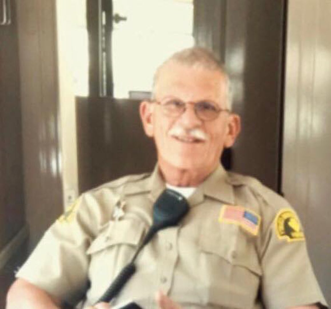 Deputy Larry Falce is seen in this photo released by the Sheriff's Employees' Benefit Association.