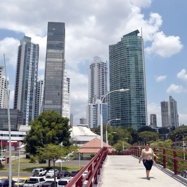 View of buildings in Panama City on April 4, 2016. (Credit: Rodrigo Arangua / AFP / Getty Images)