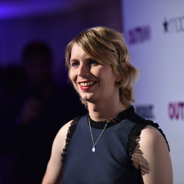 Chelsea Manning attends an event by OUT Magazine in New York City on Nov. 9, 2017. (Credit: Bryan Bedder/Getty Images for OUT Magazine)