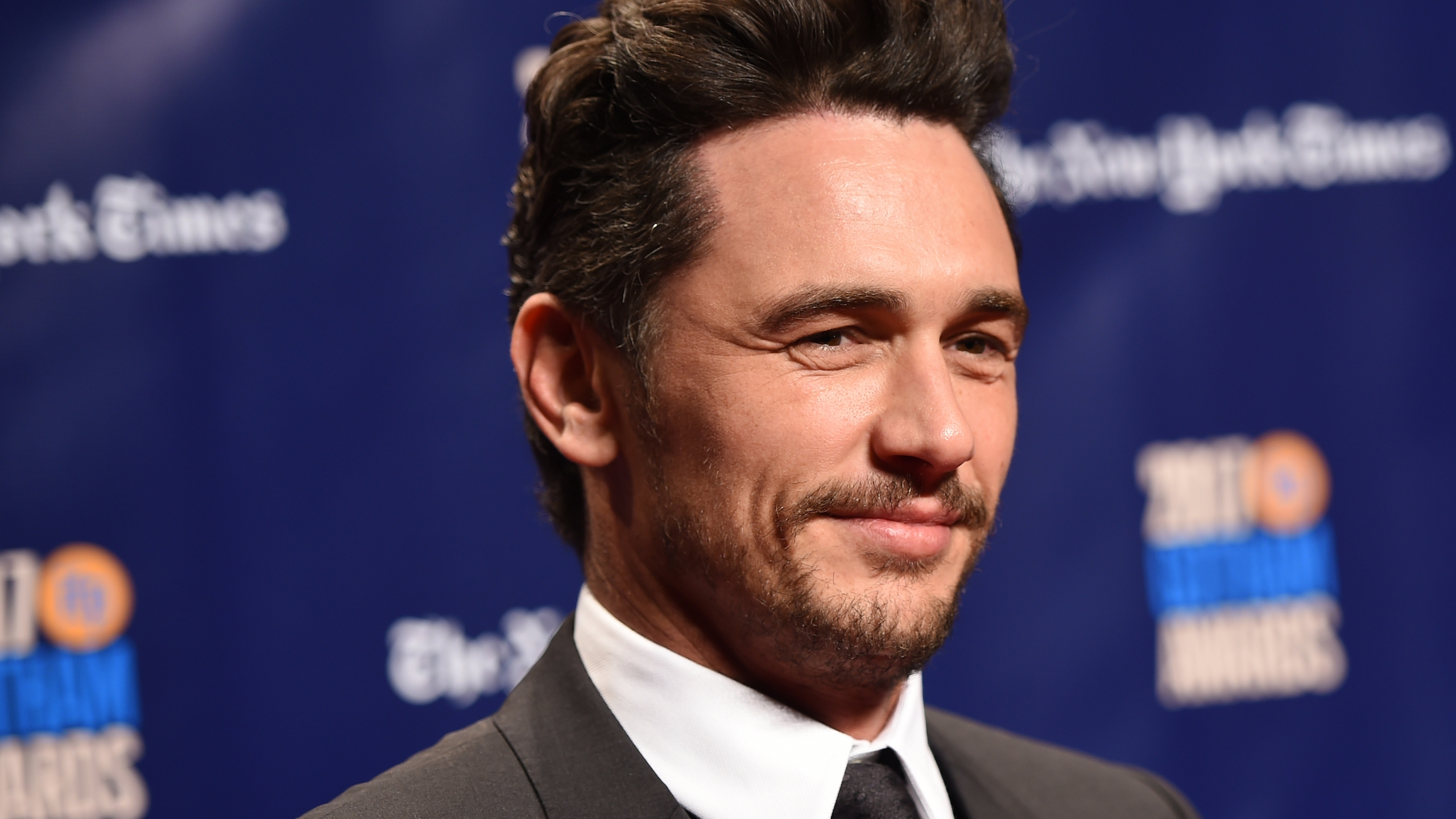 Actor James Franco attends the Gotham Independent Film Awards on Nov. 27, 2017, in New York City. (Credit: Dimitrios Kambouris / Getty Images)