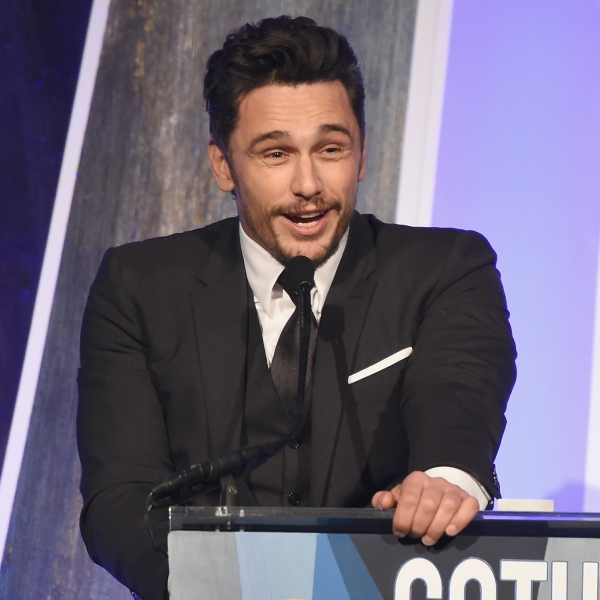 James Franco speaks onstage during IFP's 27th Annual Gotham Independent Film Awards on November 27, 2017 in New York City. (Credit: Dimitrios Kambouris/Getty Images for IFP)