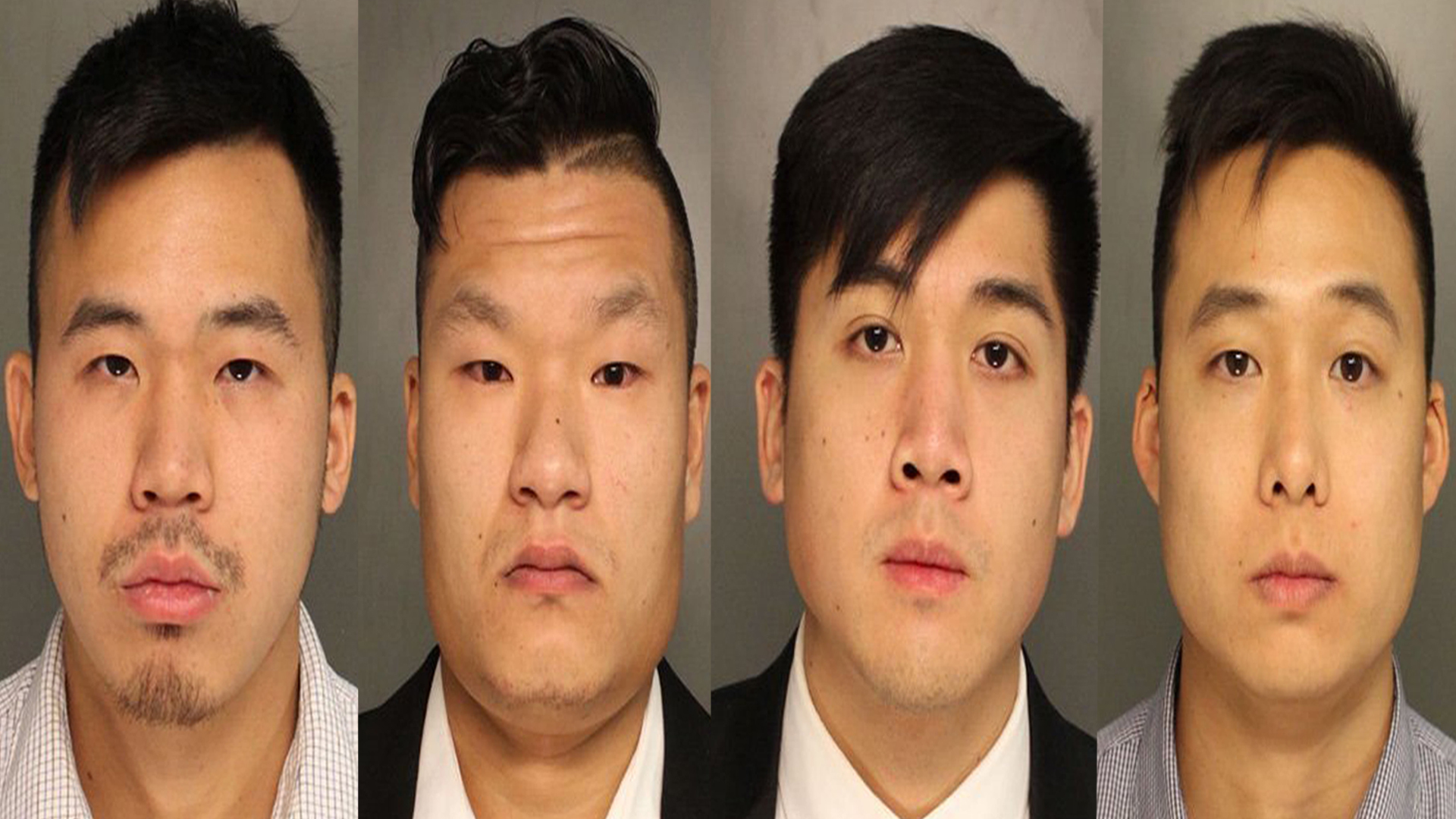 Kenny Kwan, Raymond Lam, Sheldon Wong and Charles Lai are seen in photos released by the Monroe County District Attorney's Office. (Credit: CNN)