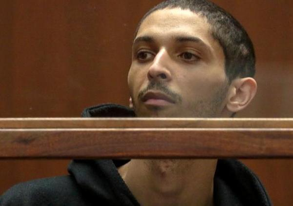 Tyler Barriss appears for an extradition hearing in downtown Los Angeles on Jan. 3, 2018. (Credit: Irfan Khan / Los Angeles Times)