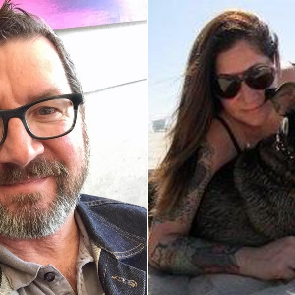 Brian Reichelt, left, is seen in a photo posted to his Facebook page on Feb. 12, 2017; Kimberly Watzman is seen in a photo posted to her Facebook page on March 12, 2013.