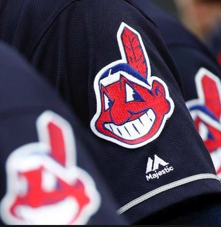 Beginning in 2019, the Cleveland Indians jerseys will no longer feature the Native American caricature, which has been widely characterized as offensive and racist. (Credit: Patrick Semansky/AP via CNN Wire)
