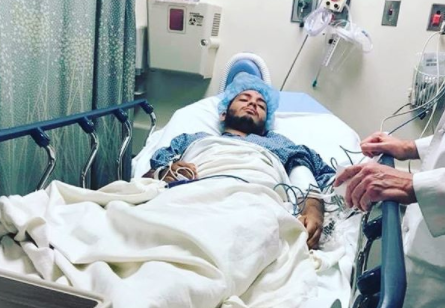 Jose Guevara, 23, is a Salvadoran American immigrant with DACA status who has been hospitalized for leukemia. (Credit: Jose Guevara via Instagram)