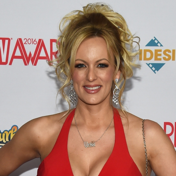 Adult film actress and director Stormy Daniels attends the 2016 Adult Video News Awards at the Hard Rock Hotel & Casino in Las Vegas on Jan. 23, 2016. (Credit: Ethan Miller / Getty Images)