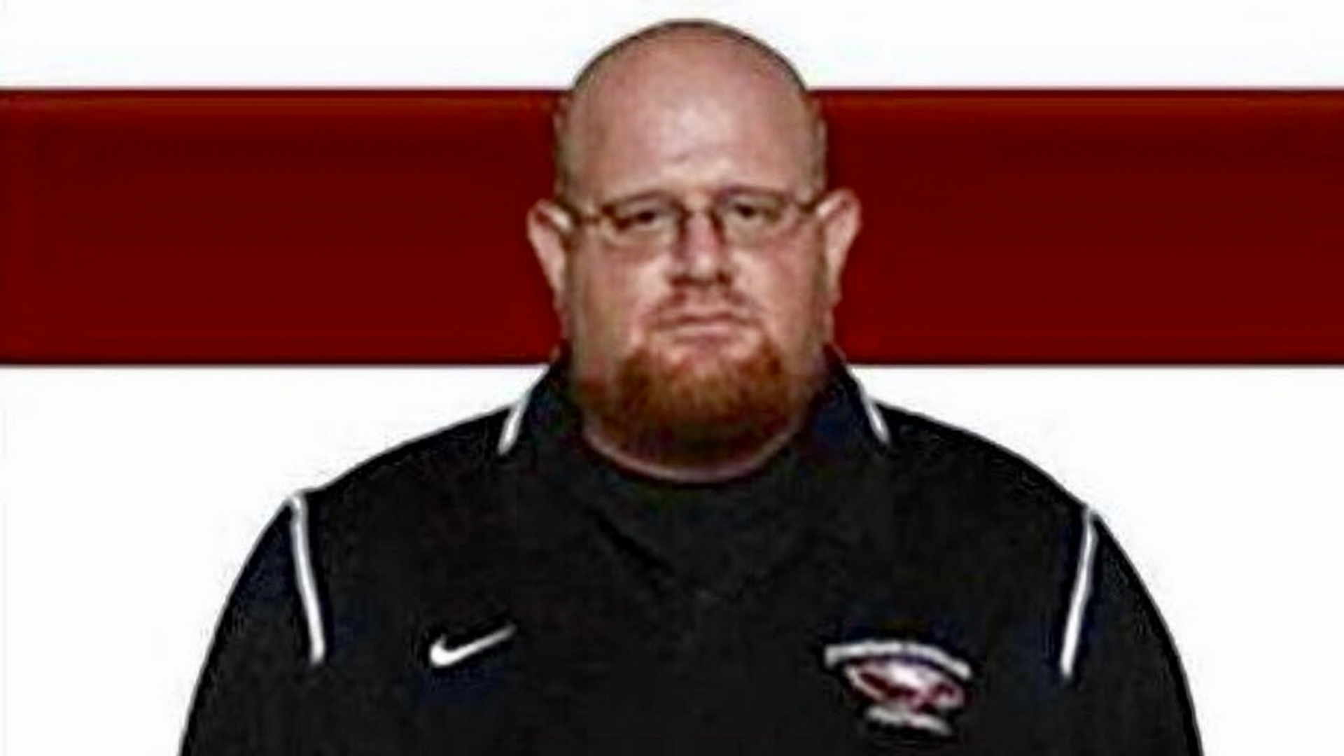 Aaron Feis is seen in an image posted to the @MSDEagles Twitter page.