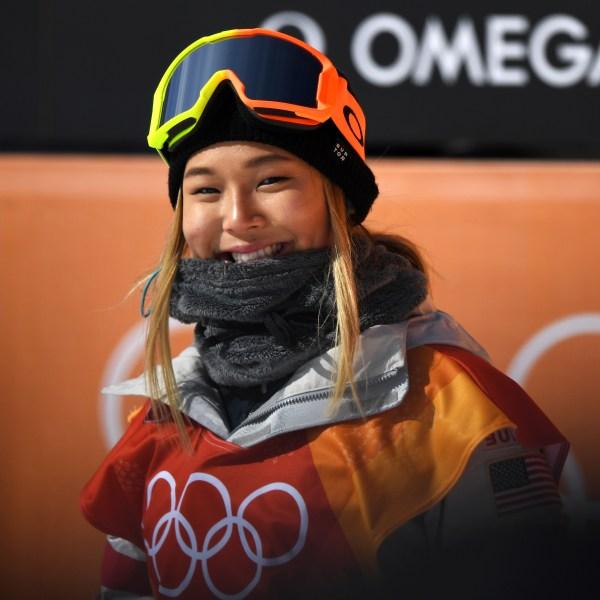 Chloe Kim is seen at the Pyeongchang 2018 Winter Olympic Games at Phoenix Snow Park on Feb. 12, 2018 in Pyeongchang-gun, South Korea. (Credit: David Ramos/Getty Images)