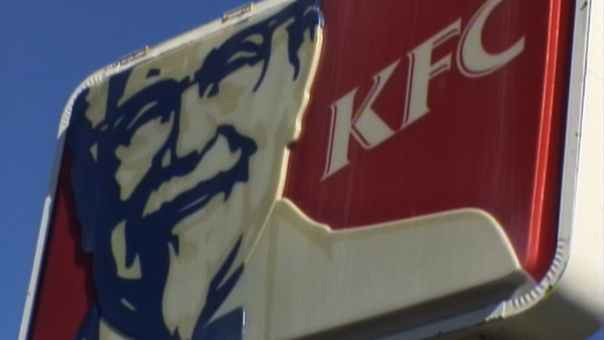 A KFC sign is seen in a file photo. (Credit: CNN)